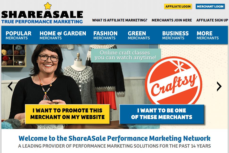 ShareASale para Afiliados y Comerciantes